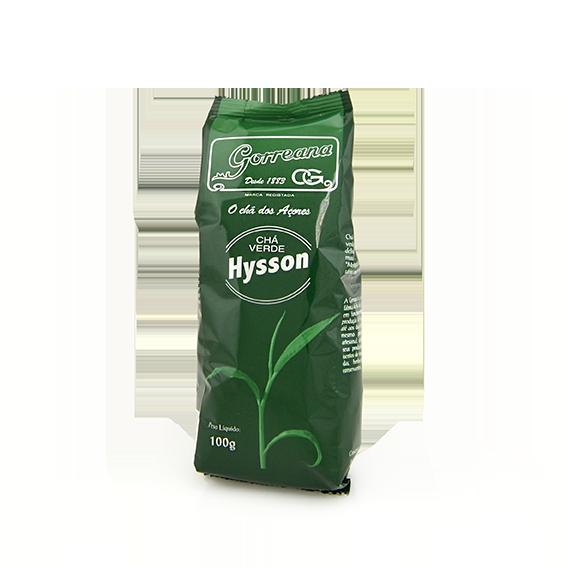 CHÁ HYSSON VERDE GORREANA  100G